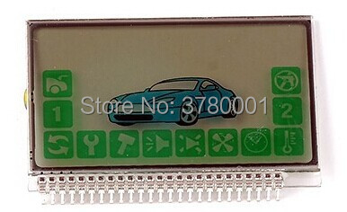 2-way A92 LCD display For Russian Anti-theft Two way Car Alarm System Starline A92 A94 lcd remote controller key fob
