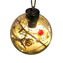Christmas Ball Ornaments Merry Christmas LED Bulb Light Ball Ornament 2017 Christmas decorations for home Christmas tree Decor