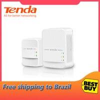 Tenda PH10 1000Mbps KIT Gigabit AV1000 Ethernet PLC adapter2.4G and 5G dual band wireless Powerline Network Adapter