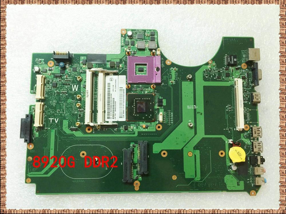 Pour acer aspire 8920 carte mère d'ordinateur portable 6050A2184601-MB-A02 MBAP50B001 MB. AP50B. 001 965PM DDR2 entièrement testé
