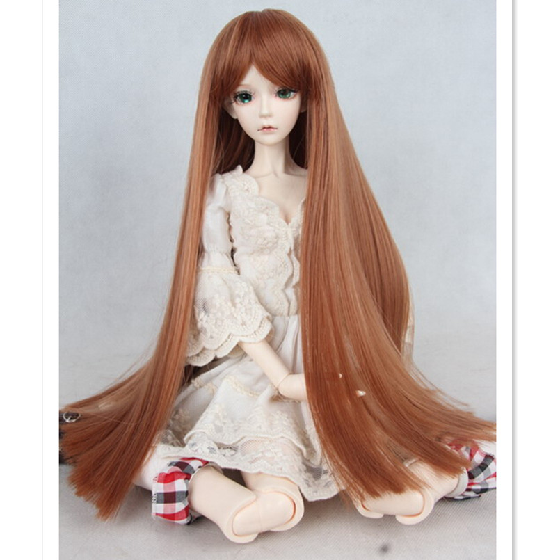 New Style Doll Wig Straight Long Hair For 1 4 Bjd Doll