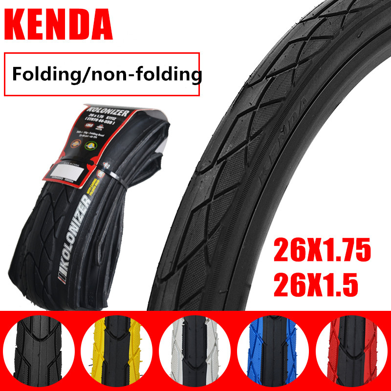 Kenda K1112 BicycleTire 26*1.5//1.75 Puncture Resistant Tyre For Mountain Bike