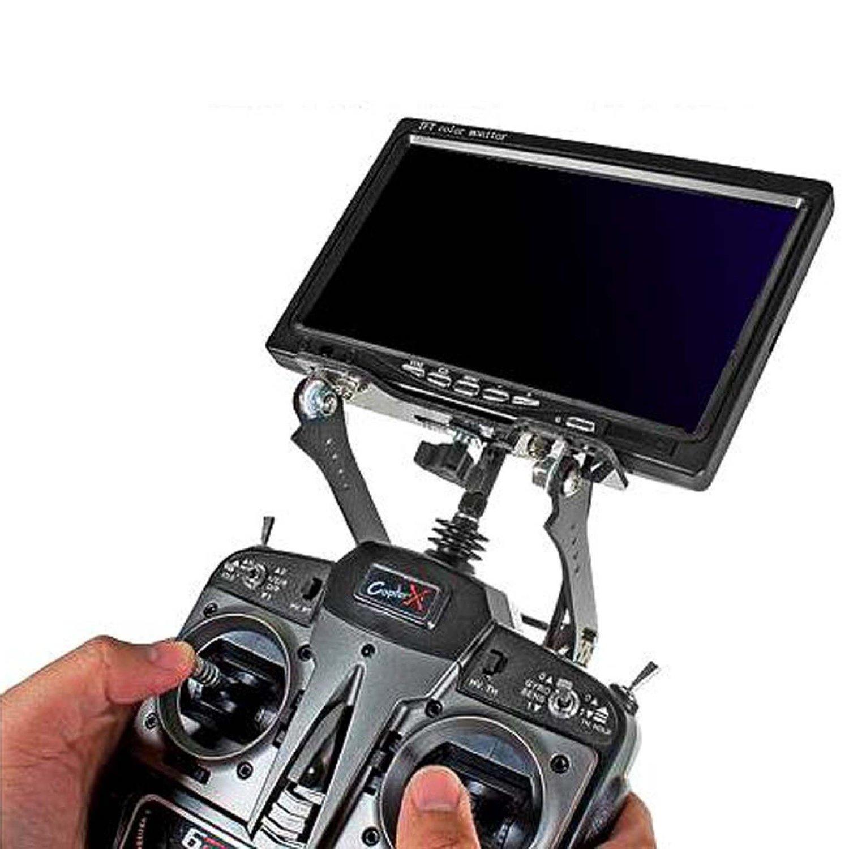 DSHA New Hot FPV Screen Display TFT Monitor Holder Support Stand Bracket for DJI Phantom black