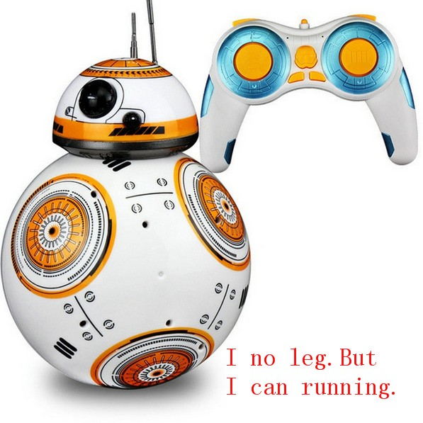 RC BB8 Robot Action Figure Gift Toys 2.4G Remote Control BB-8 Robot Intelligent BB 8 Ball ToyRC BB8 Robot Action Figure Gift Toys 2.4G Remote Control BB-8 Robot Intelligent BB 8 Ball Toy