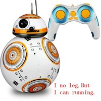 RC BB8 Robot Action Figure Gift Toys 2.4G Remote Control BB 8 Robot Intelligent BB 8 Ball Toy