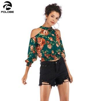 a7392aade6 2019 impressão chiffon blusa camisa das mulheres 3 4 manga longa plus size mulheres  tops blusa roupas femininas blusas