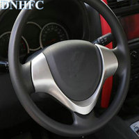 DNHFC steering wheel decorative covers For Suzuki Jimny 2015 2016 2017 Car Accessories