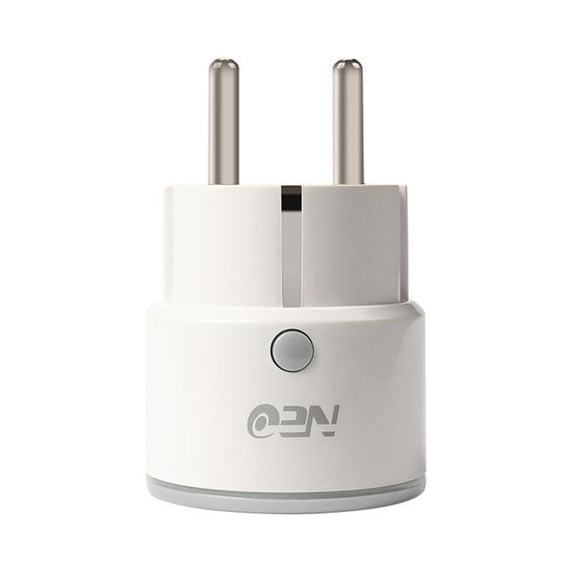 Regulowana moc uniwersalny inteligentny Mini wtyczka Wi-Fi wylot przełącznik przełącznik pracy z Echo Alexa Google domu zdalnego ue wysokiej jakości