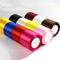 75mm 22 Meter Widened Grosgrain Ribbon Sewing Fabric Wedding Party Decoration DIY Crafts Gift Wrap Christmas