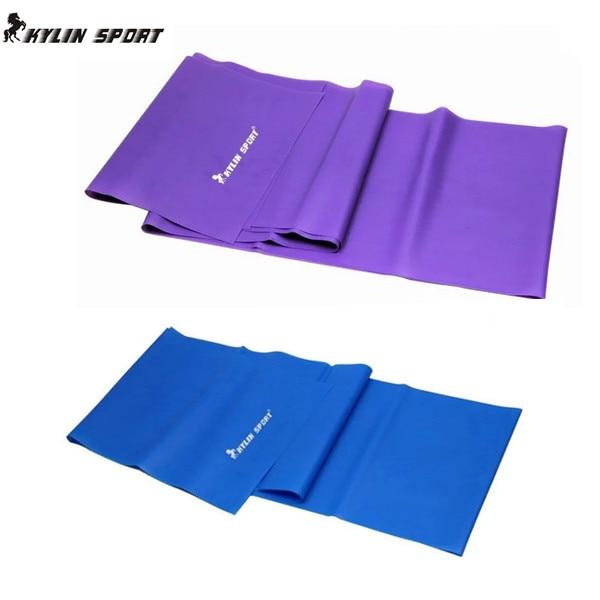 1.5m Yoga Pilates Stretch Resistance Band Övning Fitness Band - Fitness och bodybuilding