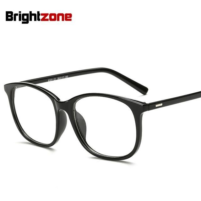 e651ea8ddebbc3 Brilmonturen Vrouw Man Brillen Frame voor Bijziendheid Vew Bril Vlakte  Spiegel Glas Zwart Spectacles