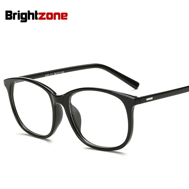 ea1e4f1129 Glasses Frames Woman Man Eyeglasses Frame for Myopia Vew Eye Glasses Plain  Mirror Glass Black Spectacles