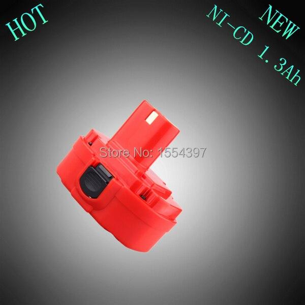 Vente 18 V Ni-cd 1300 mAh Puissance Outil Rechargeable Batterie de Remplacement pour Makita 1822 1823 1834 192827-3 JR180D 4334D PA18 Sans Fil