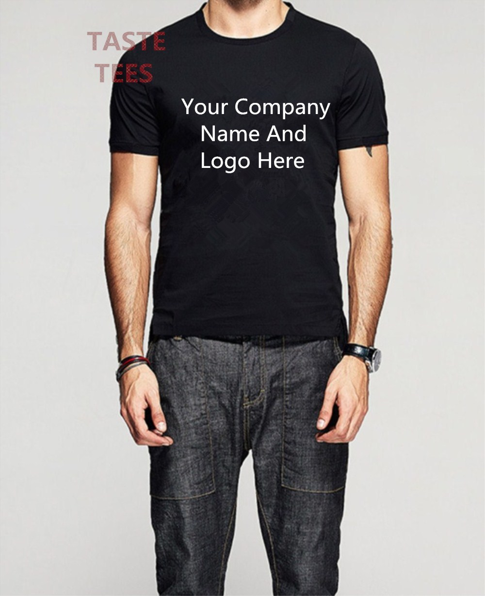 Design your own t-shirt for dogs - Custom Men T Shirt Your Name And Number Pure Cotton Casual T Shirts Print Your Own Design High Quality Shirt Size S 3xl