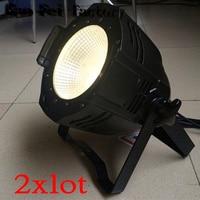 2pcs/lot stage lighting equipment 100W cob led par light white and warm white led cob par light for wedding