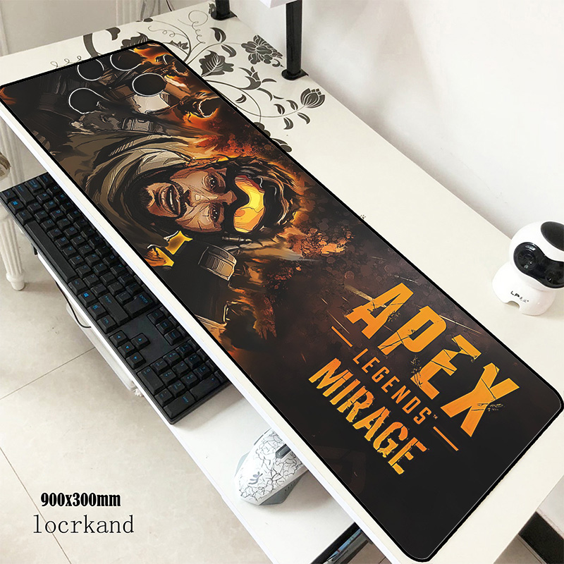 Apex Mats 900x300x3mm Wrist Rest Gaming Mouse Pad Big Keyboard Mousepad Desk Notebook Gamer Accessories Padmouse Mat