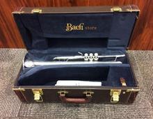 Professional Level Stradivarius Silver позолоченная труба 37 Trumpete с оригинальным синим чехлом