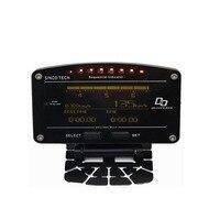 Multifunction Car Dash LCD Display Turbo Boost Exhaust EGT Temp Tacho RPM Gauge Meter 0 100km/h Testing for Racing Car