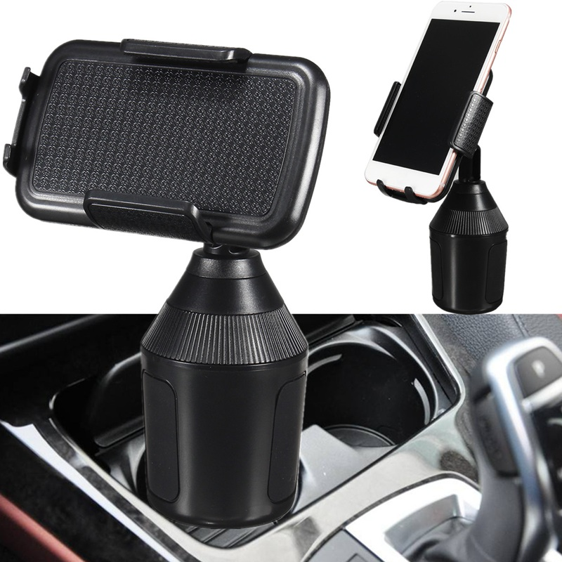 360 Adjustable Tablet Car Cup Holder Stand Cradle Mount Clip For Cell Phone GPS Portable Tablet Stand Holder For iPad For Kindle