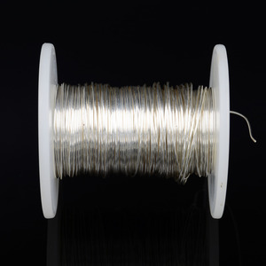 Image 5 - DINWEN 99.998% 高純度固体純銀ハイファイオーディオ DIY ヘッドホンイヤホンケーブル信号線裸線 0.1 ミリメートル 2.0 ミリメートル