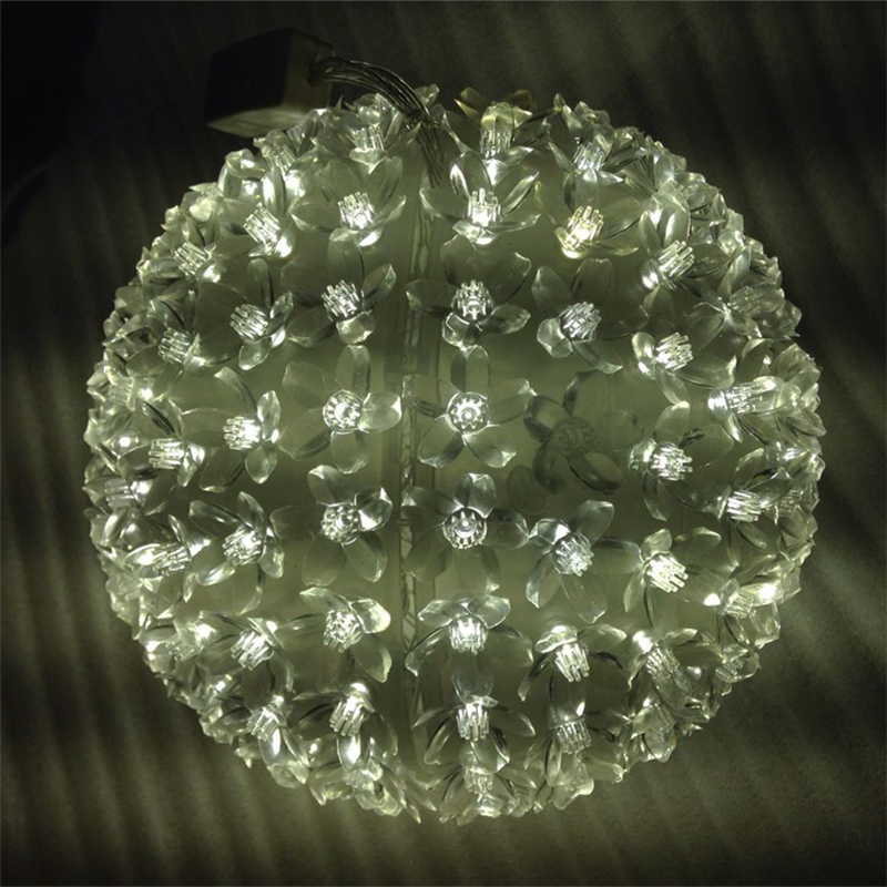 Aliexpress Com Buy Dia 20cm Large Flower Led Ball Light