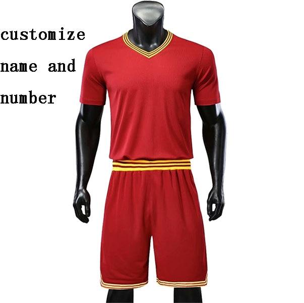 Youth Basketball Sets Boys Quick Dry Short Sleeve Jerseys Shorts Women Sports Trainning Kits Customize Any Logos
