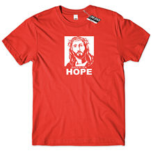 Jesus is Our Hope T Shirt Prayer Savior God Religion Faith Christian Gift Tee Free shipping Tops t-shirt Fashion cross t shirt religious religion swag jesus god christian faith bnwt gothicfree shipping tops t shirt