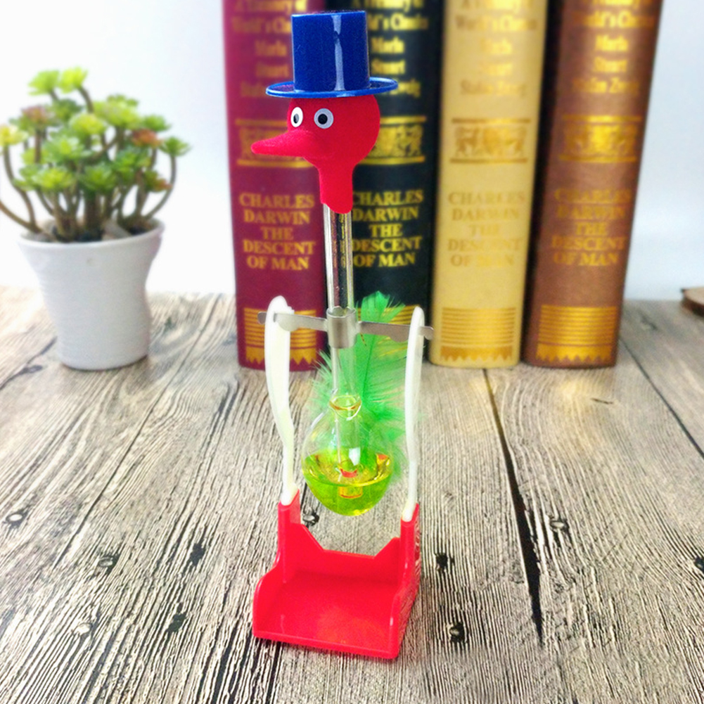 Dipping Lucky Duck Kids Funny Educational Drinking Bird Desk Non-Stop Liquid Toy Interactive Perpetual Motion Gifts