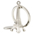 24 PCS Moda Mini Torre Eiffel Pingente Chaveiro Chave Anel De Metal Cadeia de Decoração Criativa Presente
