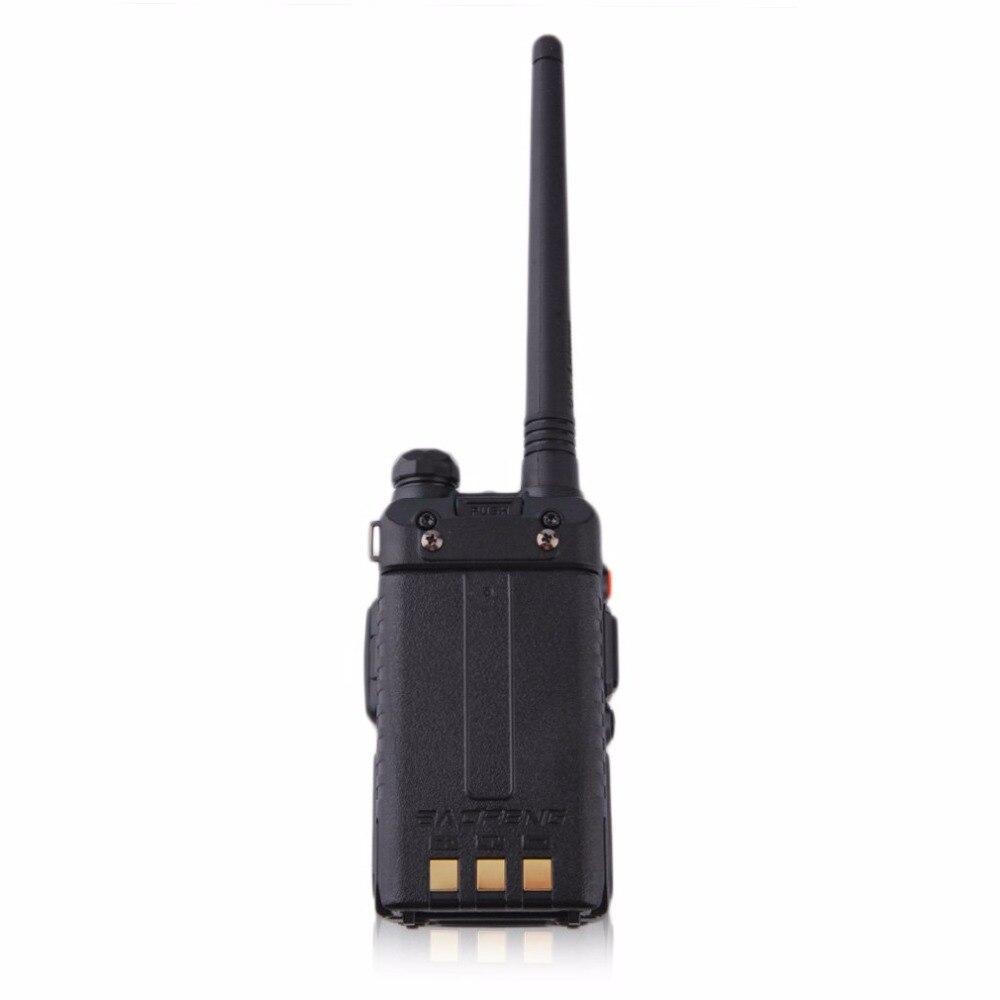 Baofeng BF-UV-5RE écran LCD talkie-walkie économiseur de batterie 5 W 128CH FM VOX DTMF Radio bidirectionnelle adaptateur US prise EU avec antenne - 5