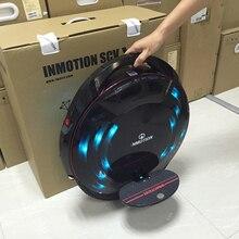 INMOTION SCV V8 Monowheel одно колесо Электрический балансируя Скутер ЧЕЕ внедорожных приложение с декоративными лампы одноколесном велосипеде
