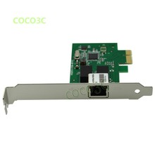 Realtek 8111C Computer 1Gbps Gigabit Ethernet Network Card PCI-e to RJ45 Port Lan Adapter Converter with Low Profile Bracket