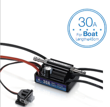 F18580 Hobbywing SeaKing V3 Waterproof 30A  2-3S Lipo 6V/1A BEC Brushless ESC for RC Racing Boat