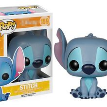 Оригинальные Funko pop Lilo& Stitch-Stitch сидящие виниловые Фигурки Коллекционная модель игрушки с оригинальной коробкой