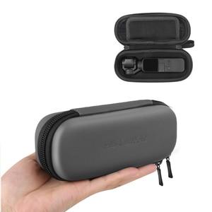Image 2 - Osmo Bolsa de almacenamiento de bolsillo para Estuche portátil PU, bolsa de amortiguador impermeable, filtro, caja de piezas de repuesto para DJI Osmo Pocket, cámara deportiva
