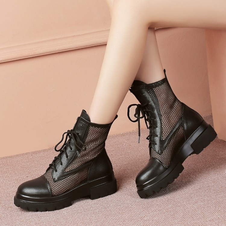 2019 New Fashion Womens Ankle Boots Mesh Boots Summer Cool Boots Lady platform shoes Breathable Womens Shoes2019 New Fashion Womens Ankle Boots Mesh Boots Summer Cool Boots Lady platform shoes Breathable Womens Shoes