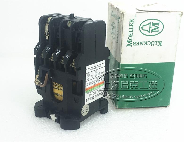 все цены на [SA]Original Germany DIL00-41 AC220V spot genuine intermediate relay contactor онлайн
