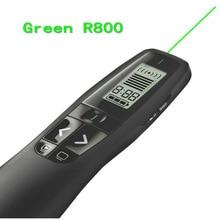 Großhandel Logitech R800 wireless presenter powerpoint-grünen laserpointer 2,4G RF Wireless RC Rot laserpointer presenter stift