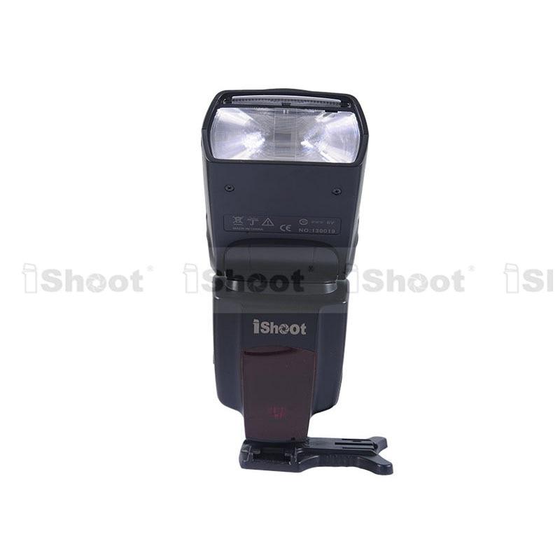 Flash Speedlite iShoot 43GN pour Pentax K-7/K-5/K-X/K-R, K20D/K10D/K200D/K100D, Nikon D700/D300/D80/D70/D60/D50/D40