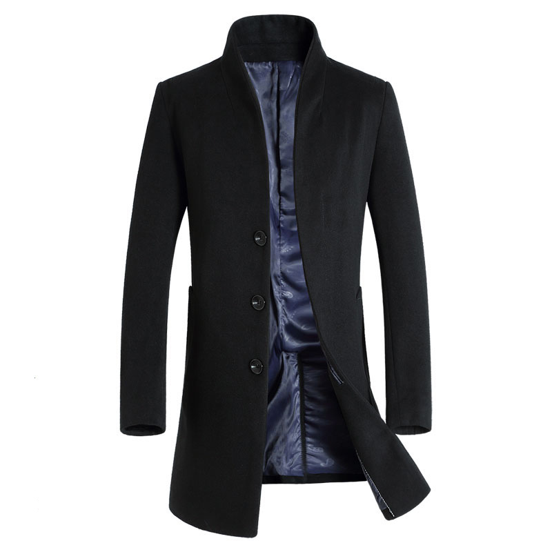 Compare Prices on Mandarin Collar Pea Coat- Online Shopping/Buy ...