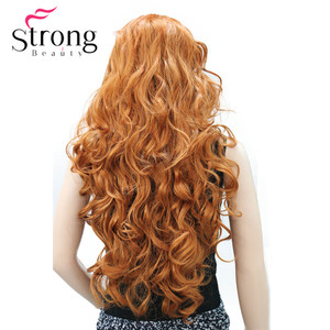 Image 2 - Long WavyBrow n Synthetic HeadBand Wig Ladies 3/4 Wigs With headband Women Full Wigs COLOUR CHOICES