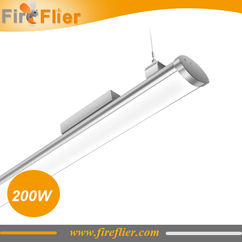 8pcs/lot UL SAA CE ROHS certified led high bay fixture 100w 150w 200w, led linear high bay, industrial warehouse lighting 250w ce emc saa rohs gs ul listed commercial 100w commercial led pendant lights