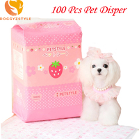 100pcs Super Absorbent Pet Diapers Dog Health Pants Puppy Paper Disposable Dry Breathable Nappy Packs Dog Supplies DOGGYZSTYLE
