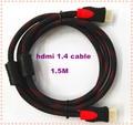 BrankBass 1.5 м HDMI к HDMI 1.4 Мужчина к мужской Кабель-Адаптер Золото Разъемы 1080 P для PS3 HDTV