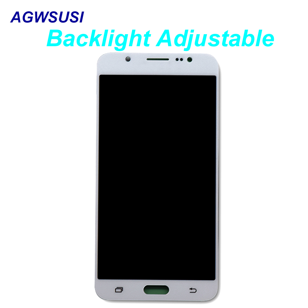 Adjust For Samsung Galaxy J7 2016 J710 J710F J710M J710MN J710H Touch Screen Digitizer Sensor + LCD Display Monitor AssemblyAdjust For Samsung Galaxy J7 2016 J710 J710F J710M J710MN J710H Touch Screen Digitizer Sensor + LCD Display Monitor Assembly