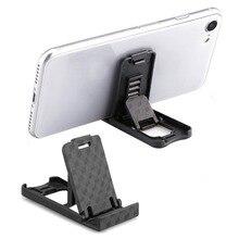 Универсальный пластиковый держатель для телефона, Складная Настольная подставка, регулируемый держатель на 4 градуса, универсальный держатель для IPhone, для телефона Xiaomi