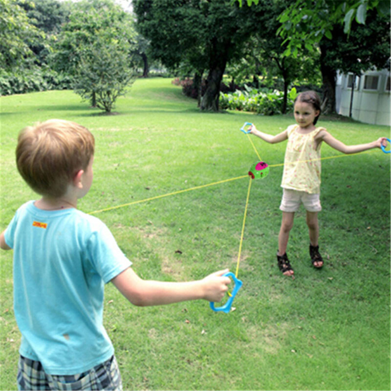 1Pcs Jumbo Speed Balls Through Pulling The Ball Indoor And Outdoor Games Toy Gift Children Plastic Toys Early Educational Toy