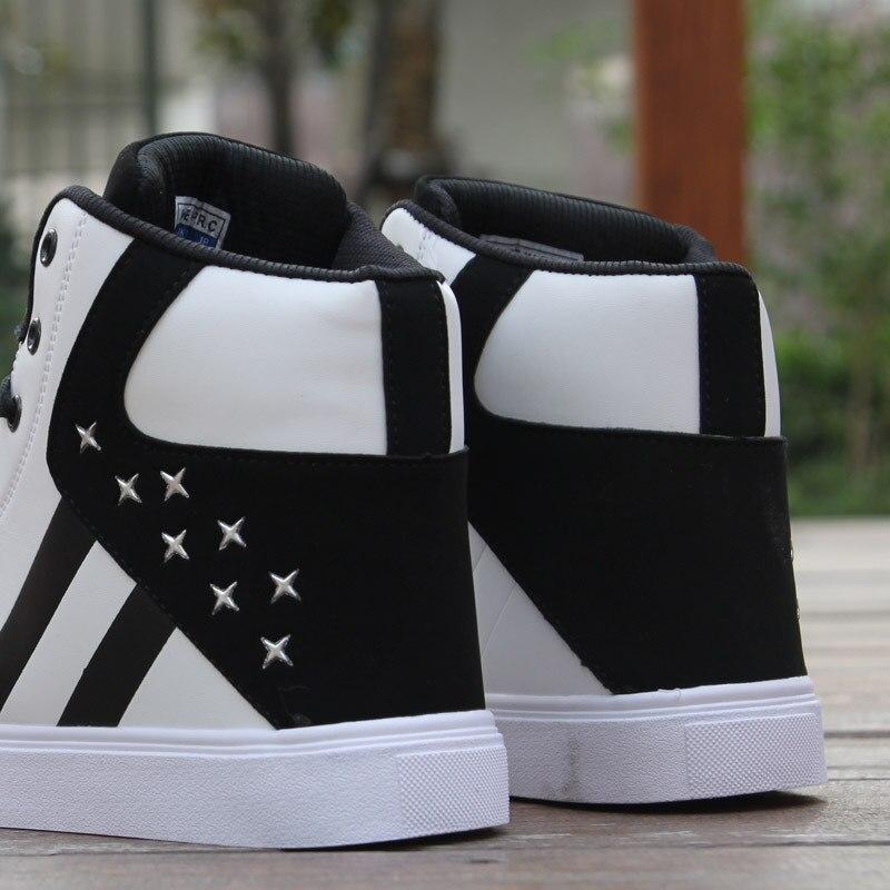 Männer Casual Skateboard Schuhe High Top Sneakers Sport Schuhe Atmungs Hip Hop Wanderschuhe Straße Schuhe Chaussure Homme- in