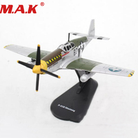 1/72 scale P 51B classic fighter plane model toys Zinc alloy airplane aircraft toys for boys gift collective collection