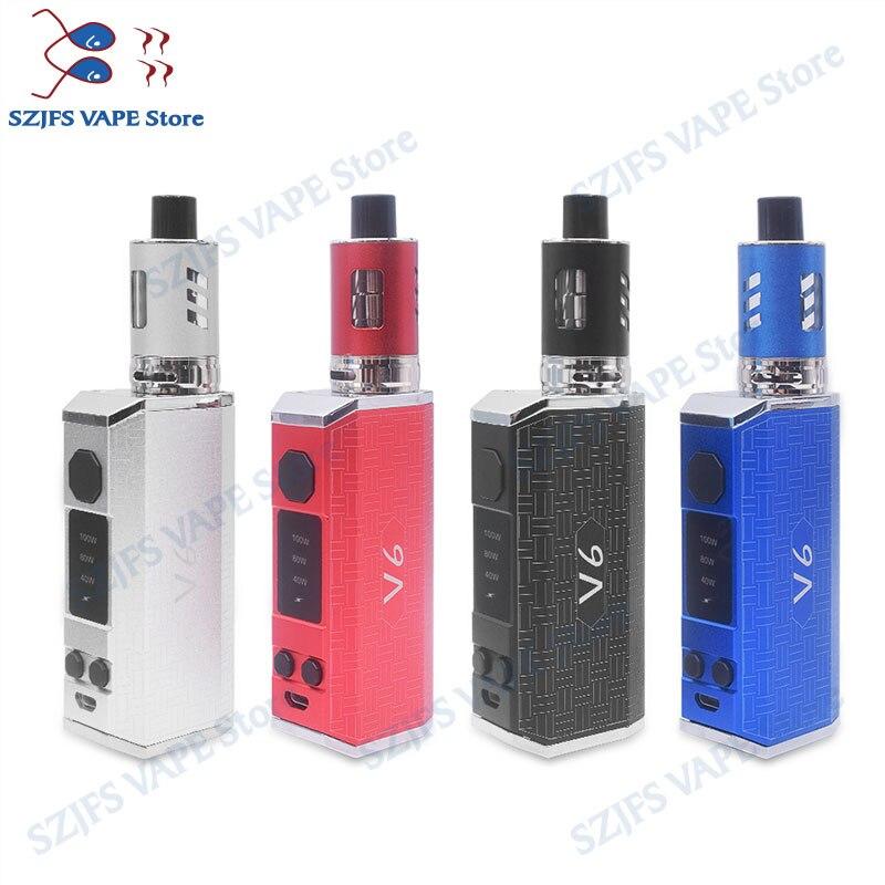 Electronic Cigarette KIT Subtwo 100w Starter Kit 2200mah Vaporizer Kit Shisha Vape Pen Hookah Metal Body 3.5ml Vape Mods